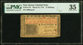 Colonial Notes:New Jersey, New Jersey March 25, 1776 12s PMG Choice Very Fine 35.. ...