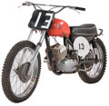 Decorative Accessories, Vintage Skoda CZ 250 Motorcycle Ridden by Paul Newman in Sometimes a Great Notion, manufactured 1967. Fr...