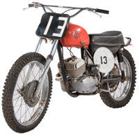 Vintage Skoda CZ 250 Motorcycle Ridden by Paul Newman in Sometimes a Great Notion, manufactured 1967 Fr