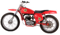 Vintage Bultaco Pursang 250 MKII Motorcycle Ridden by Peter Fonda in Easy Rider, manufactured 1968