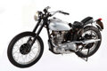 Decorative Accessories, Triumph Trophy TR5 500 Custom Motorcycle Ridden by Henry Winkler in Happy Days, manufactured 1949. Frame...
