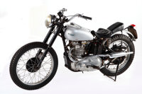 Triumph Trophy TR5 500 Custom Motorcycle Ridden by Henry Winkler in Happy Days, manufactured 1949 Frame