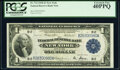 Fr. 712 $1 1918 Federal Reserve Bank Note PCGS Extremely Fine 40PPQ