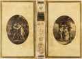 """Books:Fore-edge Paintings, [Edwards of Halifax, presumed]. James Thomson. The Seasons. London: J. Murray, 1778. """"A new edition.""""..."""