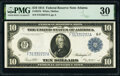 Large Size:Federal Reserve Notes, Fr. 927b $10 1914 Federal Reserve Note PMG Very Fine 30.. ...