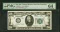 Small Size:Federal Reserve Notes, Fr. 2050-L $20 1928 Federal Reserve Note. PMG Choice Uncirculated 64.. ...