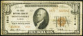 National Bank Notes:Alabama, Montgomery, AL - $10 1929 Ty. 2 The First National Bank Ch. # 1814 Fine.. ...