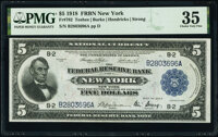 Fr. 782 $5 1918 Federal Reserve Bank Note PMG Choice Very Fine 35