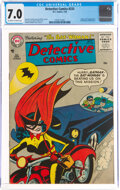 Silver Age (1956-1969):Superhero, Detective Comics #233 (DC, 1956) CGC FN/VF 7.0 Off-white to white pages....