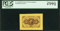 Fractional Currency:First Issue, Fr. 1231SP 5¢ First Issue Wide Margin Face PCGS Superb Gem New 67PPQ.. ...