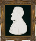 Rare Plaster Bust of Confederate General Robert E. Lee by Master Sculptor Herbert Barbee