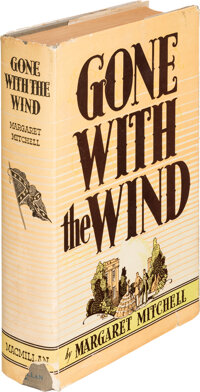 Margaret Mitchell. Gone with the Wind. New York: Macmillan Co., 1936. First edition, first issu