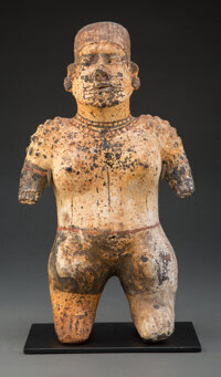 A Jalisco Standing Female Figure