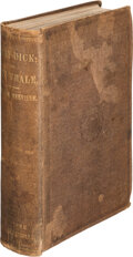 Books:First Editions, Herman Melville. Moby-Dick. Or, The Whale. New York: Harper & Brothers, 1851. First American edition, first bind...