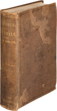 Herman Melville. Moby-Dick. Or, The Whale. New York: Harper & Brothers, 1851. First