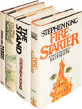 Books:Horror & Supernatural, Stephen King. Group of Four Early King Novels. Garden City; New York: Doubleday & Co.; Viking Press, 1974-[1980]. Three firs... (Total: 4 Items)