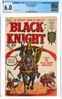 Black Knight #3 (Atlas, 1955) CGC FN 6.0 Cream to off-white pages