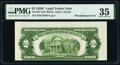 Error Notes:Miscellaneous Errors, Misaligned Back Printing Error Fr. 1507 $2 1928F Legal Tender Note. PMG Choice Very Fine 35.. ...