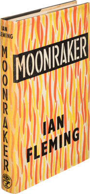 Ian Fleming. Moonraker. London: Jonathan Cape, [1955]. First edition, first impression, first s