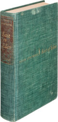 Books:Signed Editions, John Steinbeck. East of Eden. New York: The Viking Press, 1952. Autographed First edition. Limited edition, one of 1...