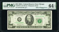 Error Notes:Offsets, Full Back to Face Offset Error Fr. 2076-G $20 1988A Federal Reserve Note. PMG Choice Uncirculated 64 EPQ.. ...