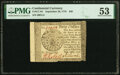 Continental Currency September 26, 1778 $40 PMG About Uncirculated 53