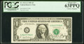 Donald T. Regan Courtesy Autographed Fr. 1911-G $1 1981 Federal Reserve Note. PCGS Choice New 63PPQ