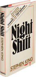 Books:Signed Editions, Stephen King. Night Shift. Garden City: Doubleday & Co., Inc., 1978. First edition. Signed and inscribed by the au...