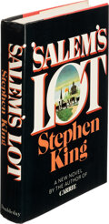 Books:Signed Editions, Stephen King. 'Salem's Lot. Garden City: Doubleday & Co. Inc., 1975. First edition, second state dust jacket price c...