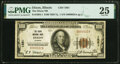 National Bank Notes:Illinois, Dixon, IL - $100 1929 Ty. 1 The Dixon National Bank Ch. # 1881 PMG Very Fine 25.. ...