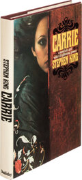 """Books:Signed Editions, Stephen King. Carrie. Garden City: Doubleday & Co., Inc., 1974. First edition, with printing code """"P6"""" to page 199. ..."""
