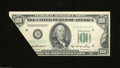 Error Notes:Foldovers, Fr. 2158-D $100 1950A Federal Reserve Note. Choice Crisp ...