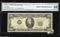 Error Notes:Attached Tabs, Fr. 2075-G $20 1985 Federal Reserve Note. CGA About ...