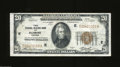 Small Size:Federal Reserve Bank Notes, 1929 $20 Federal Reserve Bank Note, Fr-1870-E, Extremely Fine. ...