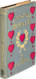 """Books:Mystery & Detective Fiction, Ian Fleming. Casino Royale. London: Jonathan Cape, [1953]. First edition, second impression, with """"Second Impression..."""