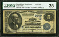 National Bank Notes:New Jersey, Toms River, NJ - $5 1882 Value Back Fr. 574 The First National Bank Ch. # (E)2509 PMG Very Fine 25.. ...