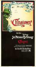 """Movie Posters:Crime, Chinatown (Paramount, 1974). Fine+ on Linen. Three Sheet (41"""" X 78"""") Jim Pearsall Artwork.. ..."""