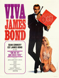 """Movie Posters:James Bond, Viva James Bond: You Only Live Twice (United Artists, R-1970). Very Fine+ on Linen. French Grande (47.75"""" X 63"""") Yves Thos a..."""