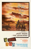 """Movie Posters:Western, The Searchers (Warner Bros., 1956). Fine/Very Fine on Linen. One Sheet (27"""" X 41.5"""").. ..."""