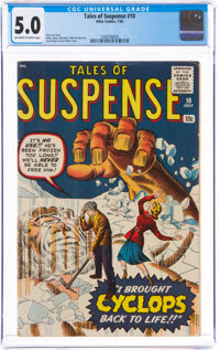 Tales of Suspense #10 (Marvel, 1960) CGC VG/FN 5.0 Off-white to white pages