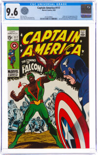 Captain America #117 (Marvel, 1969) CGC NM+ 9.6 White pages