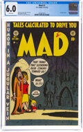 MAD #1 (EC, 1952) CGC FN 6.0 White pages