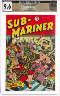Golden Age (1938-1955):Superhero, Sub-Mariner Comics #13 The Promise Collection Pedigree (Timely, 1944) CGC NM+ 9.6 Off-white to white pages....