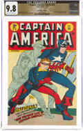 Golden Age (1938-1955):Superhero, Captain America Comics #59 The Promise Collection Pedigree (Timely, 1946) CGC NM/MT 9.8 Off-white to white pages....