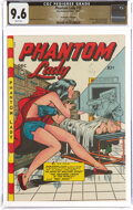 Golden Age (1938-1955):Superhero, Phantom Lady #15 The Promise Collection Pedigree (Fox Features Syndicate, 1947) CGC NM+ 9.6 White pages....