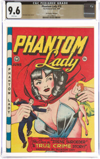 Phantom Lady #18 The Promise Collection Pedigree (Fox Features Syndicate, 1948) CGC NM+ 9.6 White pages