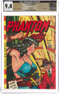 Golden Age (1938-1955):Superhero, Phantom Lady #23 The Promise Collection Pedigree (Fox Features Syndicate, 1949) CGC NM 9.4 White pages....
