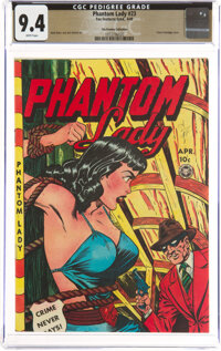 Phantom Lady #23 The Promise Collection Pedigree (Fox Features Syndicate, 1949) CGC NM 9.4 White pages