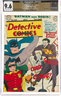 Detective Comics #149 The Promise Collection Pedigree (DC, 1949) CGC NM+ 9.6 Off-white to white pages