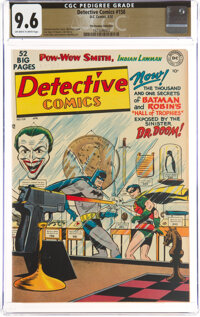 Detective Comics #158 The Promise Collection Pedigree (DC, 1950) CGC NM+ 9.6 Off-white to white pages